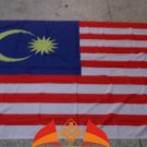 Malaysia National Flag 3x5ft 150x90cm 100D Polyester