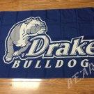 Drake Bulldogs Flag 3ftx5ft Banner 100D Polyester NCAA Flag