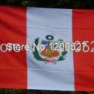 Peru National Flag 3x5ft 150x90cm 100D Polyester