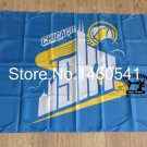 Chicago Sky 3ft x 5ft Polyester WNBA Banner Flying flag