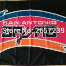 SAN Antonio blue and pink logo flag 3FTx5FT 150X90CM Banner 100D Polyester flag