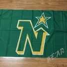 Minnesota North Stars Flag 3ftx5ft Banner 100D Polyester NHL Flag