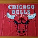 Chicago Bulls Flag 3x5 FT 150X90CM Banner 100D Polyester NBA flag