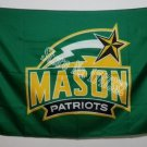 George Mason Patriots Flag 3ftx5ft Banner 100D Polyester NCAA Flag