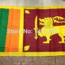 Sri Lanka National Flag 3x5ft 150x90cm 100D Polyester