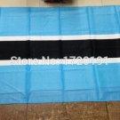 Botswana National Flag 3x5ft 150x90cm 100D Polyester