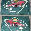 Minnesota Wild Flag 3FT x5 FT 150X90CM Banner 100D Polyester NHL flag
