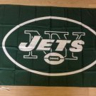 New York Jets NFL car flag 12x18 inches 30x45cm double sided 100D Polyester style 2