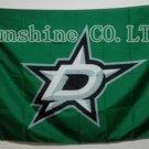 Dallas Stars Flag 3ftx5ft Banner 100D Polyester NHL Flag style 1