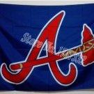 Atlanta Braves MLB Baseball Flag 3X5FT 150X90CM Banner brass metal holes