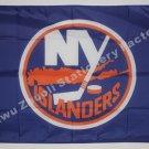 New York Islanders Logo flag 3x5 FT Banner 100D Polyester NHL Flag Brass Grommets