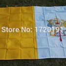 Vatican National Flag 3x5ft 150x90cm 100D Polyester