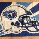 Tennessee Titans Helmet Lighting Flag 3ft x 5ft Polyester Banner flag