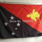 Independent State of Papua New Guinea flag 90x150cm 100D polyester metal grommets