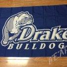 Drake Bulldogs Helmet Flag 3ftx5ft Banner 100D Polyester NCAA Flag