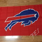 Buffalo Bills logo car flag 12x18inches 30x45cm double sided 100D Polyester