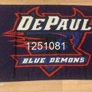 DePaul Blue Demons Flag 3ftx5ft Banner 100D Polyester NCAA Flag style 1