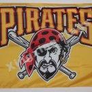 Pittsburgh Pirates Flag 3ft x 5ft Polyester MLBCustom flag