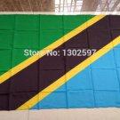 Tanzania National Flag 3x5ft 150x90cm 100D Polyester