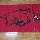 Arkansas Razorbacks flag 3ftx5ft Banner 100D Polyester NCAA Flag style 1