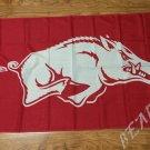 Arkansas Razorbacks flag 3ftx5ft Banner 100D Polyester NCAA Flag style 2