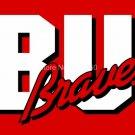 Bradley Braves Flag 3ftx5ft Banner 100D Polyester NCAA Flag style 1