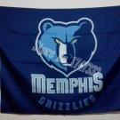 Memphis Grizzlies Flag 3ft x 5ft Polyester NBA Banner Custom flag