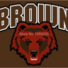 Brown Bears Helmet Flag 3ftx5ft Banner 100D Polyester NCAA Flag style 2