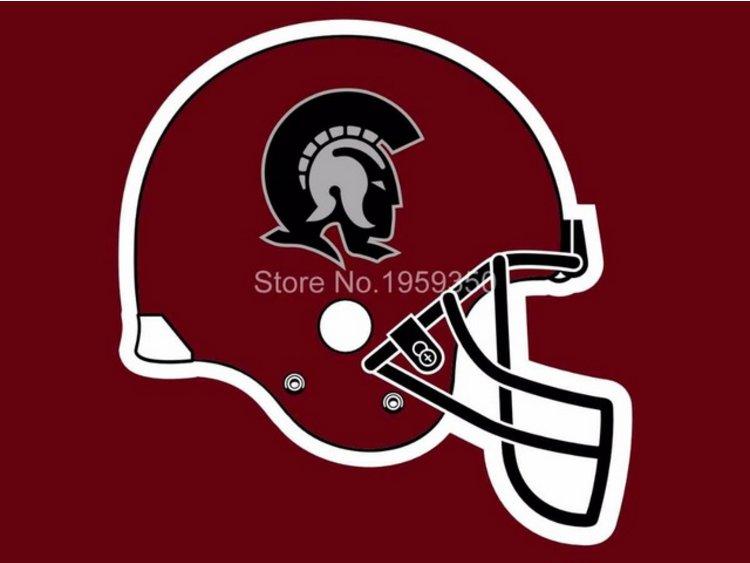 Arkansas Little Rock Trojans Helmet flag 3ftx5ft Banner 100D Polyester NCAA Flag