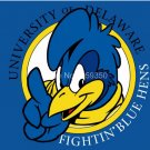 Delaware Fightin Blue Hens flag 3ftx5ft Banner 100D Polyester NCAA Flag style 4