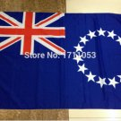 Cook Islands National Flag 3x5ft 150x90cm 100D Polyester
