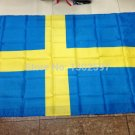 Sweden National Flag 3x5ft 150x90cm 100D Polyester