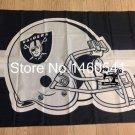 Oakland Raiders Helmet Flag 3ft x 5ft Polyester Banner flag