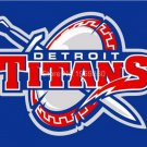 Detroit Mercy Titans Flag 3ftx5ft Banner 100D Polyester NCAA Flag style 1