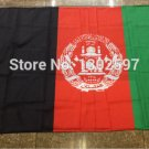 Afghanistan National Flag 3x5ft 150x90cm 100D Polyester