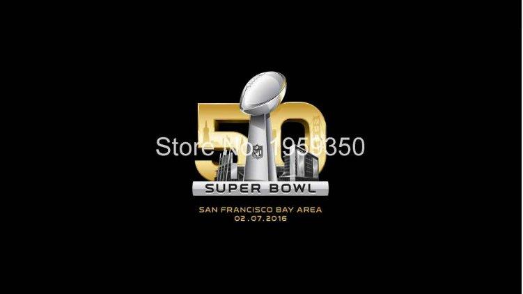 50th SuperBowl Flag 90x150cm metal grommets style 2