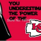 Kansas City Cheifs star wars flag 3ftx5ft Banner 100D Polyester Flag metal Grommets