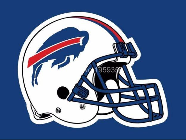 Buffalo Bills Helmet logo car flag 12x18inches double sided 100D Polyester NFL
