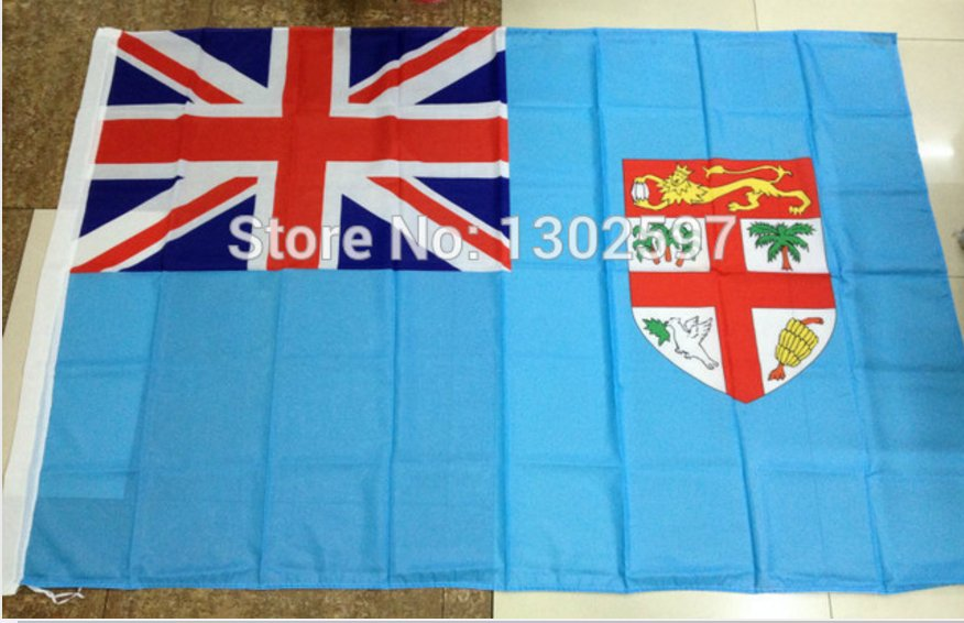 Fiji National Flag 3x5ft 150x90cm 100D Polyester