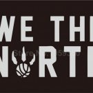Toronto Raptors NBA We The North Black Basketball 3x5 Feet Flag Wall Hanger