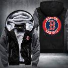 Boston Red Sox Hoodies Zip Up Super Warm Thicken Fleece Men's Coat USA plus size