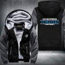 Chicago Bears Hoodies Zip Up Super Warm Thicken Fleece Men's Coat US plus size
