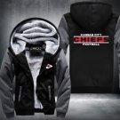 Kansas City Chiefs Hoodies Zip Up Super Warm Thicken Fleece Men's Coat US plus size