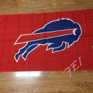 Buffalo Bills Flag 3ft x 5ft Polyester Banner 90x150cm white sleeve with 2 Metal Grommets