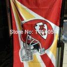 Kansas City Chiefs Helmet Flag 150X90CM Banner 100D Polyester3x5 FT
