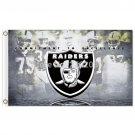 Oakland Raiders Flag Banner 3ft X 5ft Raiders Custom World Series Banner 3x5ft