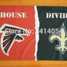 Atlanta Falcons New Orleans Saints House Divided Flag150X90CM Banner