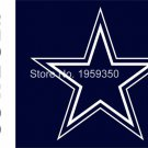 Dallas Cowboys horizontal Flag 90x150cm metal grommets 3x5 banner
