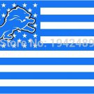 3ft x 5ft Detroit Lions flag banner 100D Digital Printing flag metal Grommets