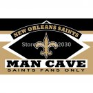 New Orleans Saints Fans Only Flag MAN CAVE Banner Flag  90x150cm